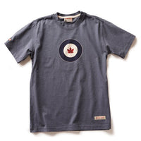 Red Canoe - Royal Canadian Air Force Roundel T-Shirt | M-SST-RCAF-01-WB