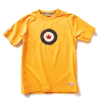 Red Canoe - Royal Canadian Air Force Roundel T-Shirt | M-SST-RCAF-01-BY