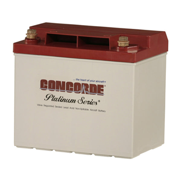 Concorde RG25XC General Aviation AGM Aircraft Battery - 12V