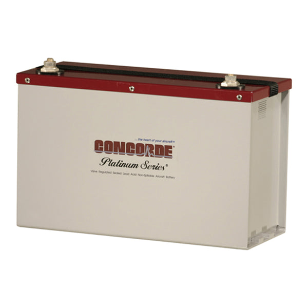 Concorde RG350 Helicopter Turbine Aircraft Battery - 24v