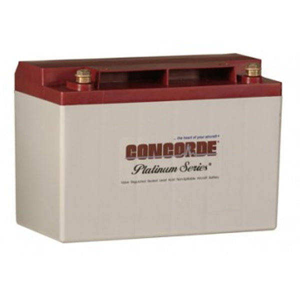 Concorde RG35AXC General Aviation AGM Aircraft Battery - 12V