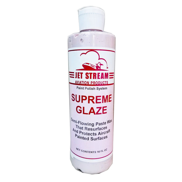 Jet Stream - Supreme Glaze Cleaner Wax, Pint