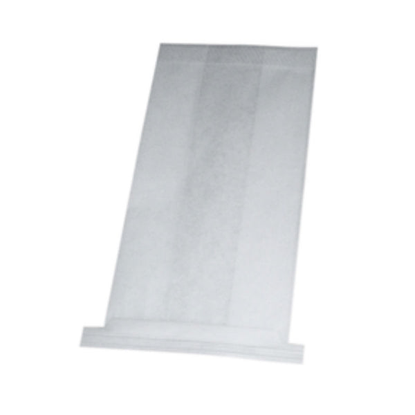 White Air Sick Bag with Horizontal Tin Ties