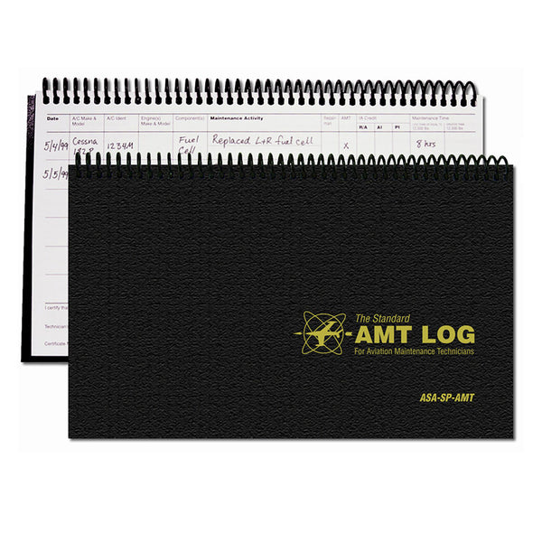 ASA - AMT Log Book - Spiral Bound