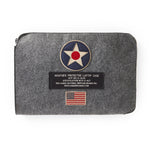 Red Canoe - US Roundel Laptop Case | U-BAG-LTUSR-GY