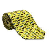 Aero Phoenix - Silk Twill Airplane Tie