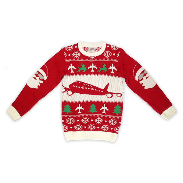 Aviation Ugly Christmas Sweater, Cleared For Christmas