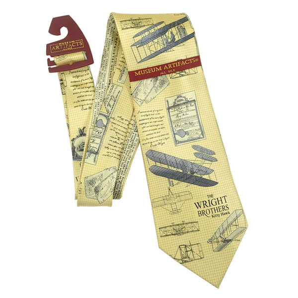 Museum Artifacts - The Wright Brothers Silk Tie | WMUS855