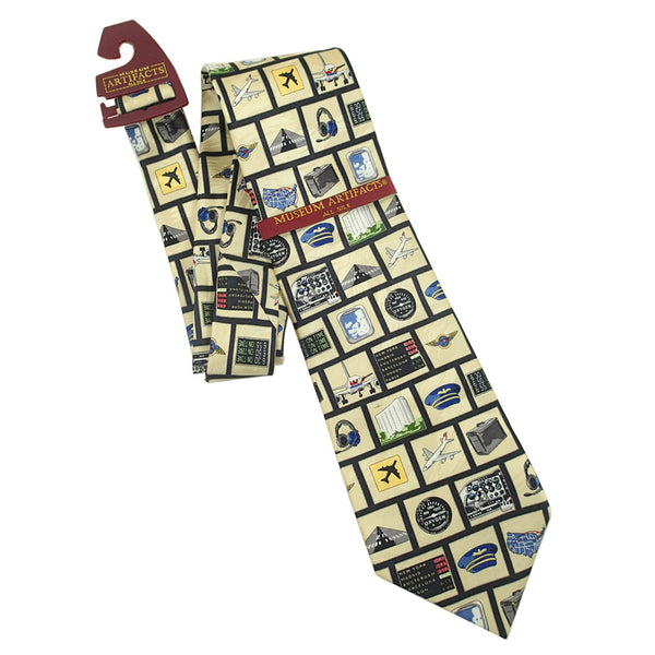 Museum Artifacts - Tools of the Trade Silk Tie | WMUS865