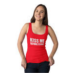 'Kiss Me Before Flight'' Tank-Top