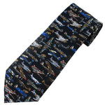Museum Artifacts - World War II Airplanes, Large Silk Tie