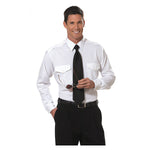 Van Heusen - Mens Aviator Shirt, Long Sleeve