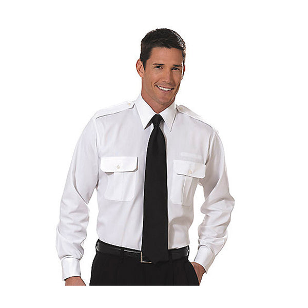 Van Heusen - Mens Long Sleeve Pilot Shirt