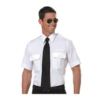 Van Heusen - Mens Pilot Shirt, Short Sleeve