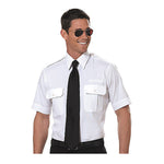 Van Heusen - Pilot Shirt, Mens, Short Sleeve, TALL