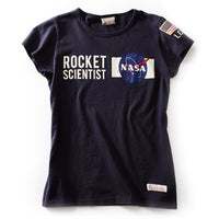 Red Canoe - Women's NASA T-Shirt | L-SST-NASA-01-NY
