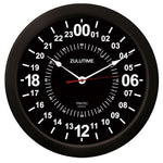 Trintec - 14'' ZuluTime 24-Hour Clock - Black | ZT24-HR14-B