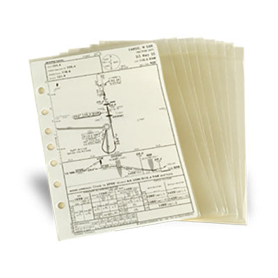 Jeppesen - Approach Chart Protector (Set of 10)| 10001459 AM6211