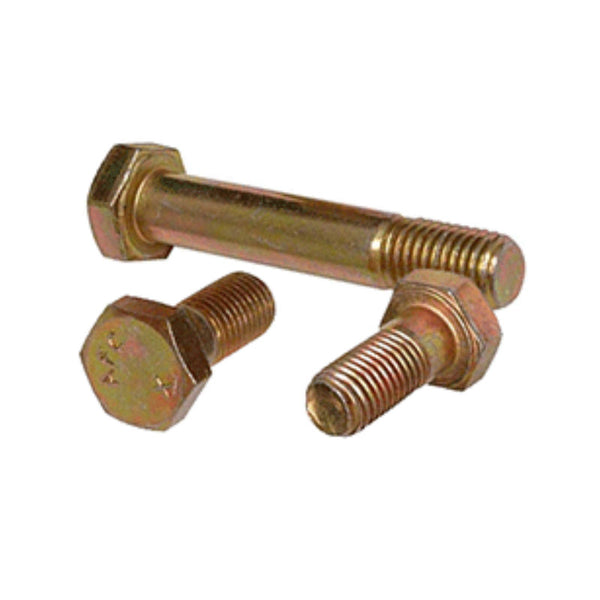 Cad Plated Hex Head Bolt, Drilled Shank | AN4-27