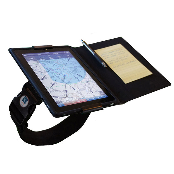 "AppStrap - Pilot Kneeboard for Ipad 1, 8-10"" Tablets 