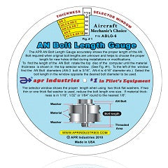 AN Bolt Length Gauge 6"