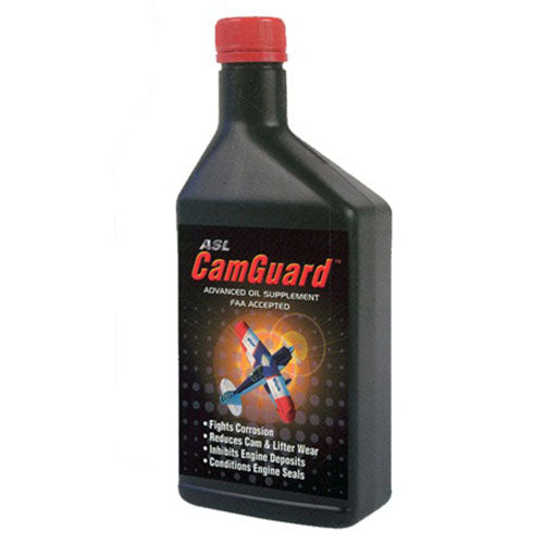 CamGuard - Oil Additive (Aviation), 16oz