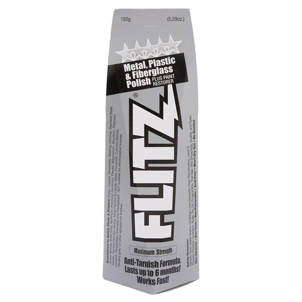 Flitz Paste Metal Polish, Fiberglass & Paint Restorer