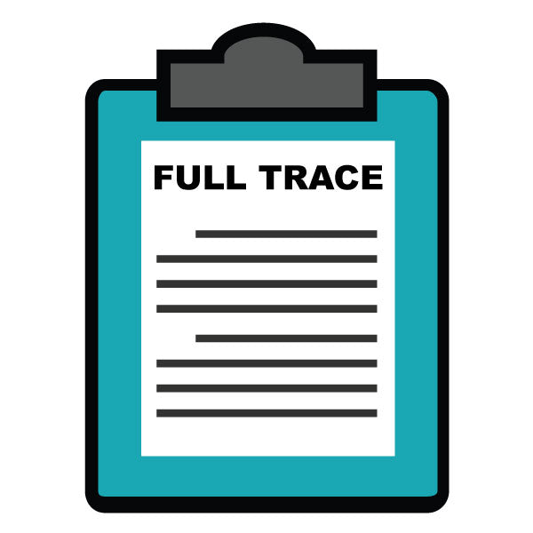 Certification - Full Trace