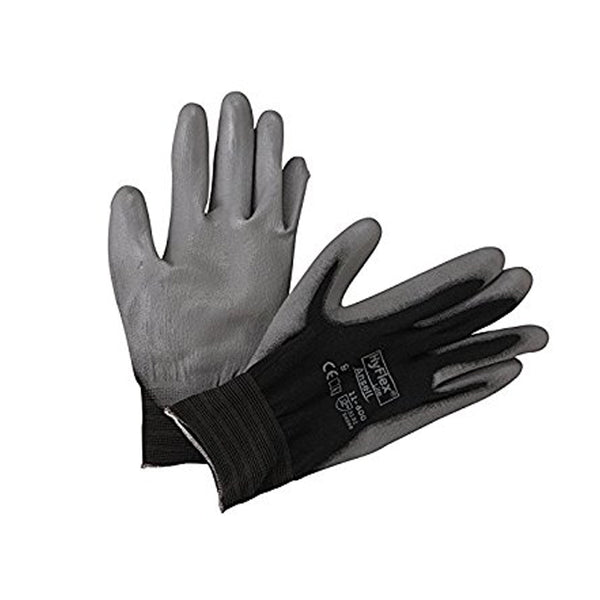Ansell - Glove Poly Palm Coated Hyflex Knitwrist | ANE11-600-9