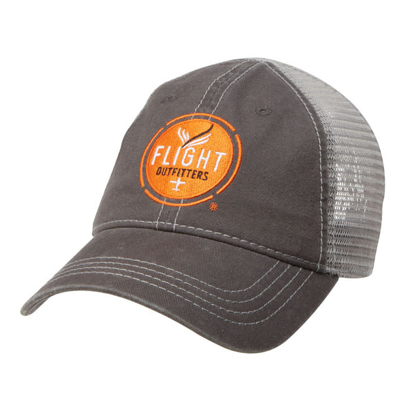 Flight Outfitters - Gray Trucker Hat | FO-MBH300-GY
