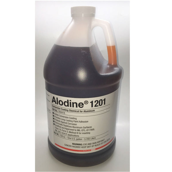 Henkel - Alodine 1201 Light Metals Conversion Coating, Gallon