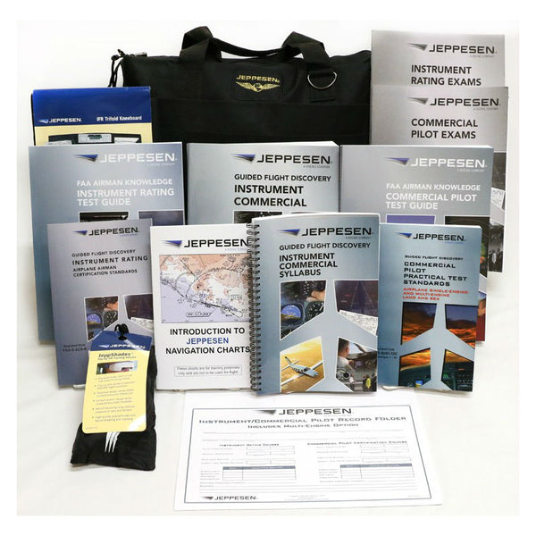 Jeppesen - Instrument / Commercial 141 Kit JS302028 | 10011889
