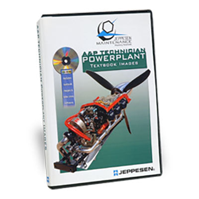Jeppesen - A&P Technician Powerplant Image CD JS281102