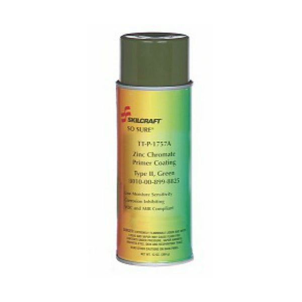 So-Sure - Zinc Chromate Metal Primer, Green, 12oz | 0084348