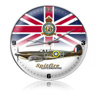 Vintage Signs - Spitfire Union Jack 14in x 14in | C037