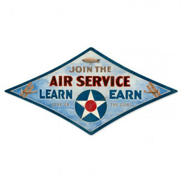 Vintage Signs - Air Service 22in x 14in | DMD012