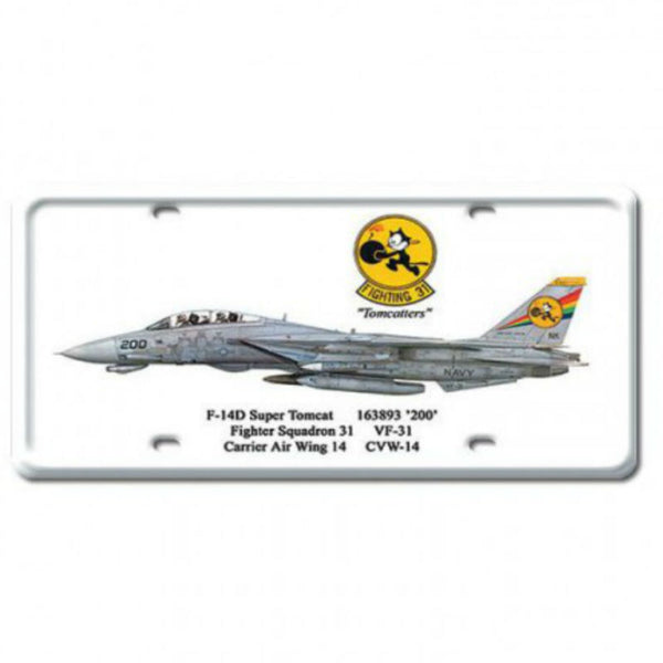 Vintage Signs - F-14D Super Tomcat 6in x 12in | DP006