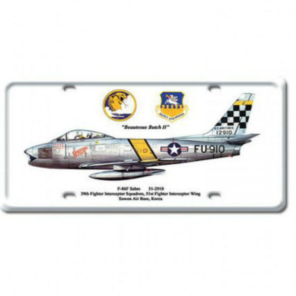 Vintage Signs - F-86F Sabre 6in x 12in | DP015