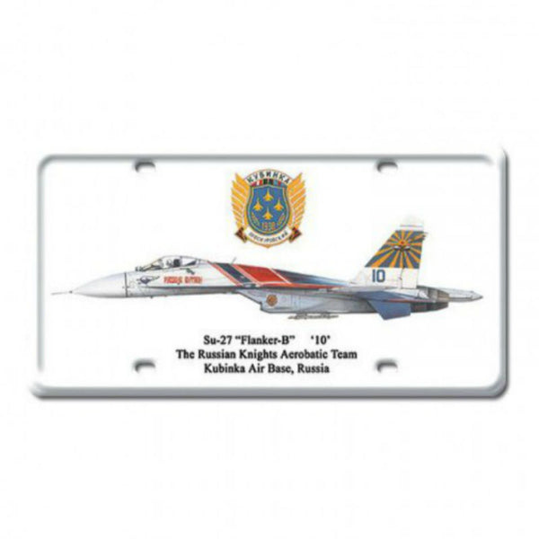 Vintage Signs - Su-27 Flanker-B 6in x 12in | DP019