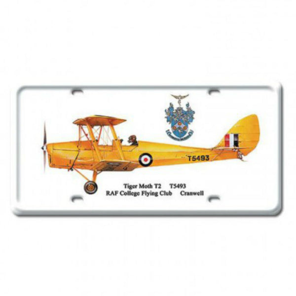 Vintage Signs - Tiger Moth T2 6in x 12in | DP020