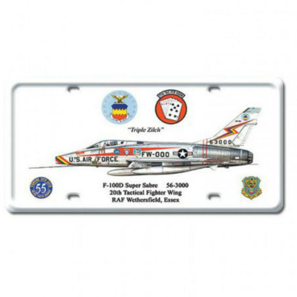 Vintage Signs - F-100D Super Sabre 6in x 12in | DP023