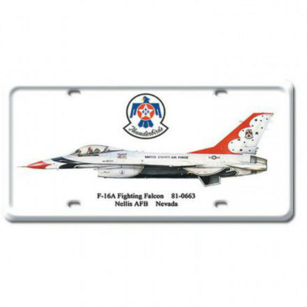 Vintage Signs - F-16A Fighting Falcon 6in x 12in | DP026