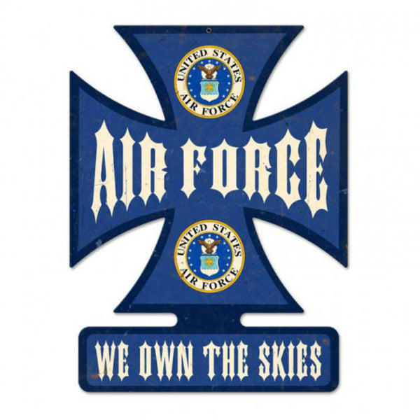Vintage Signs - Air Force 14.5in x 18.5in | IC013
