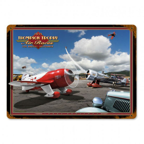 Vintage Signs - Air Races 1933 15in x 12in | LG001