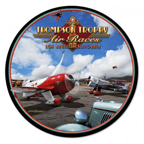 Vintage Signs - Air Races 1933 14in x 14in | LG003
