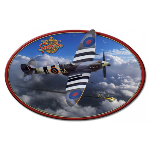 Vintage Signs - Spitfire 18in x 12in | LG791
