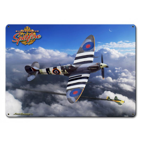 Vintage Signs - Spitfire 15in x 12in | LG792
