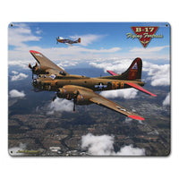 Vintage Signs - B-17 Flying Fortress 12in x 15in | LG799
