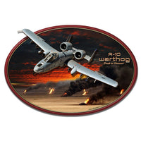Vintage Signs - 3-D A-10 Warthog 20in x 13in | LG839