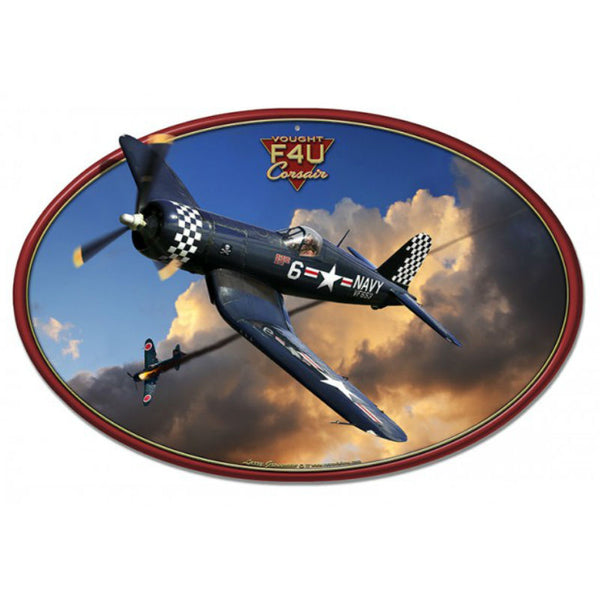 Vintage Signs - Corsair F4U Flat 20in x 13in | LG883